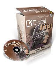Digital Artist - Digital Painting Software For Windows On CD-ROM