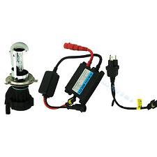 55W 12V Motorcycle Xenon Kit H4-3/9003 Bi-xenon Hi/Lo Bulb 4300K&AC Slim Ballast