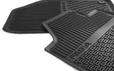 Original front rubber foot mats for NEW FABIA 6V  6V1061551