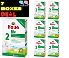 7 Boxes Holle Goat Milk Stage 2 Organic New Formula W/ DHA Germany  Exp 7/2022+