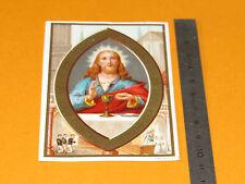 CHROMO 1920-1930 CATHOLICISME IMAGES PIEUSES HOLY CARD JESUS CHRIST RELIGION