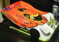 0148 Carrozzeria body RC 1/8 Lola Aston Martin+alettone/SPOILER