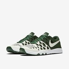 New York Jets Nike Train Speed 4 AMP NFL Green White 3M Sneakers Size 9.5
