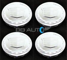 CADILLAC ESCALADE ESV EXT CHROME 3.25 INCH WHEEL CENTER CAP SET 4 OEM GM 9595891
