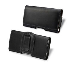 For iPhone 5 Leather Case Sleeve Pouch Cover Holster with Belt Clip