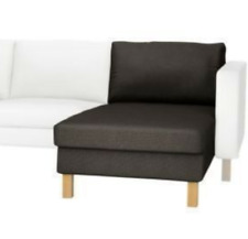 IKEA Karlstad Add On CHAISE Lounge Cover Korndal Brown NEW Chocolate NIP Add-On