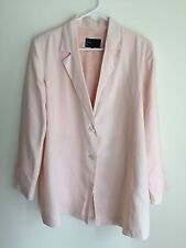 42 / 14 - Formes - Daniel Boudon - Pink Formal Maternity Jacket