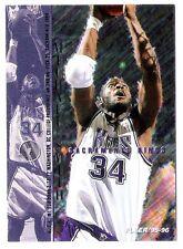 Michael Smith 1995-96 Fleer Sacramento Kings Insert Basketball Card