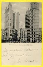 cpa in 1904 Post Card United States USA NEW YORK Park Row & Saint Paul BUILDINGS