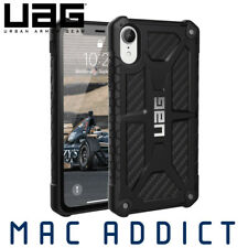 UAG Monarch Premium Ultra Rugged Protective Case For iPhone XR- Carbon Fibre