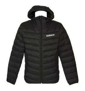 Giaccone giubbotto giacca uomo con cappuccio e tasche NAPAPIJRI articolo NP0A4F9