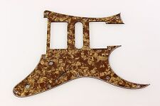 Replacement front route Guitar Pickguard fits RG550 Jem RG  HSH Brown Pearl