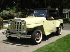 WILLYS JEEPSTER 48-51 CONVERTIBLE TOP+WINDOW - SPECIAL ORDER VINYL COLORS
