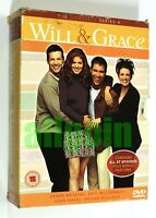 DVD WILL & GRACE THE COMPLETE SERIES 4 BOX SET (6 DVD) NBC 2004 ENGLISH