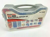 AUTOCRAFT Tool APPROX 399pc Piece Multi-Use Electrical Repair Kit W/Case USED