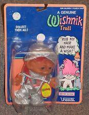 Vintage Uneeda Wishnik Space Astronaut Troll Figure New In The Package