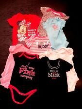 CLOTHING LOT 8 pcs.- GIRLS (3-6MO)