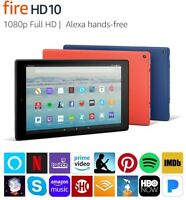 "Amazon Fire HD 10 (9th Gen) Tablet with Alexa, 10.1"" 1080p Full HD Display-New!"
