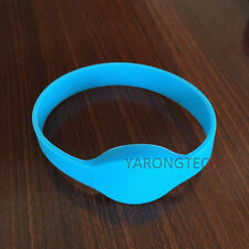 10 PCS 13.56MHZ ISO 14443A Waterproof RFID Silicone wristband bracelet