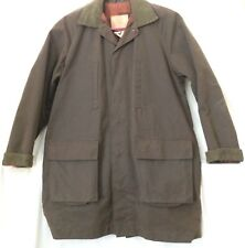 Morrisons Oil Cloth Coat Small Fully Lined Winter Australia Heavy Unisex Style
