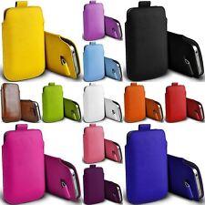 Slim Handy Tasche für Huawei Ascend P8 Lite LG Wiko Schutz Hülle Case Etui PT OF