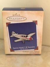 Hallmark Ornament Sky's the Limit Spartan Model 7-W Executive #8 Series Airplane