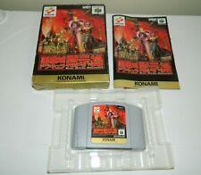 Castlevania for Nintendo 64 N64 Japan Dracula CIB COMPLETE