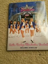 DALLAS COWBOYS VS NEW YORK GIANTS INAUGURAL GAME PROGRAM 9-20-09 JERRY'S WORLD