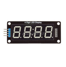"Green 0.36"" inch TM1637 4Bit Digital LED Display Clock Tube Display F Arduino LO"