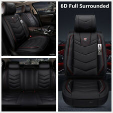 Luxury 6D Full Surrounded Car Seat Cover Cushion PU Leather Auto Interior Decor