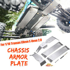 Fit For 1/10 Traxxas ERevo E-Revo 2.0 Chassis Armor Protection Skid Plate Guard