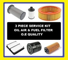 Oil Air Fuel Filter Vauxhall Combo van Diesel 1.7 DTI 16V 2008,2009,2010,2011