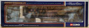 Corgi 1:50 CC12912 Scania Topline Curtainside Stephen Sanderson 2648/2900 MIB SS