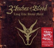 3 Inches of Blood - Long Live Heavy Metal LTD EDITION CD NEU OVP