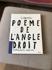 Poeme De l'Angle Droit - LeCorbusier Lithographies Originales HARDCOVER