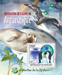 Ozone Destruction Nature protection s/s Burundi Sc.1133 MNH #BUR12419b
