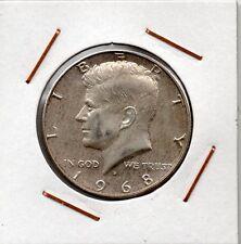 United States : Half Dollar 1968 D XF+ ( silver )