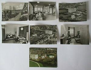7 Postkarten Heilig - Geist - Krankenhaus Köln Weidenpesch 1970er Jahre