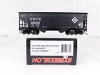 HO Scale Atlas Trainman 18882 ERIE 2-Bay Offset Side Open Top Hopper #28279 RTR