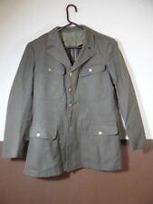 VTG WW2 Wool US Army Jacket Green 40S