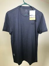 ICEBREAKER Men's Superfine Merino Wool Tech Lite SS GREY T-Shirt SMALL - NEW