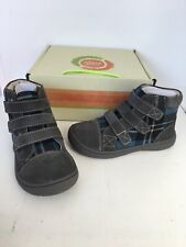 Livie And Luca Boys Gray Plaid Jamie Sneakers Size 9 New