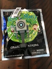 New Rick and Morty Figural Keychain w/ UPC attached BUTTER ROBOT