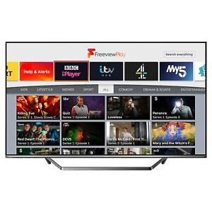 Hisense H43AE7400FTUK 43 4K Ultra HD HDR Smart TV with Alexa & Freeview Play