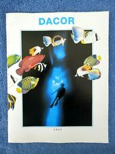 New listing Vintage 1993 Dacor Scuba Catalog Regulators Computers Introducing Omni Pro