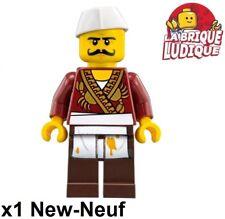 Lego - Figurine Minifig Ninjago Severin Black cook cuisinier njo333 70620 NEUF