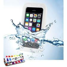 COQUE iPHONE 4 4S WATERPROOF BLANC ETANCHE ULTRA RESISTANT (TPU)