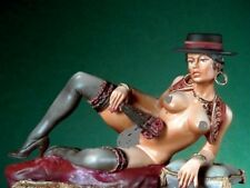Pegaso Models 80mm The Spanish Girl White Metal Figure Kit #80-011