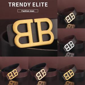 2021 Luxury Designer Belt Men Women BB Buckle Waist Strap Jeans for Waistband