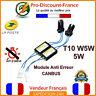 2 x Module Anti Erreur OBD T10 W5W 5W Résistance LED CANBUS Modules Ampoules